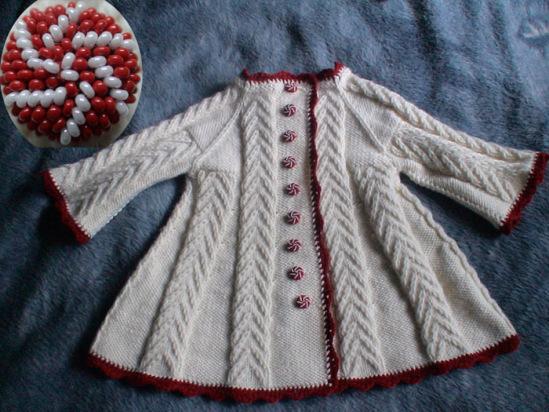Одеваемся со вкусом.  Вязаное детское пальто .  Кройка, шитье, вязание - способы и приемы.
