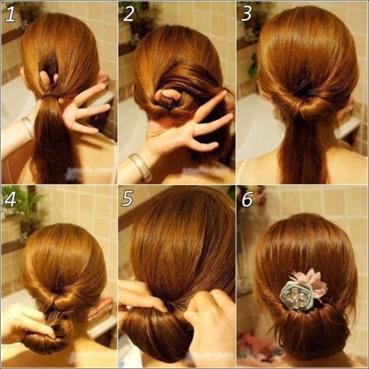 Причёски на не густые волосы в домашних условиях фото пошагово