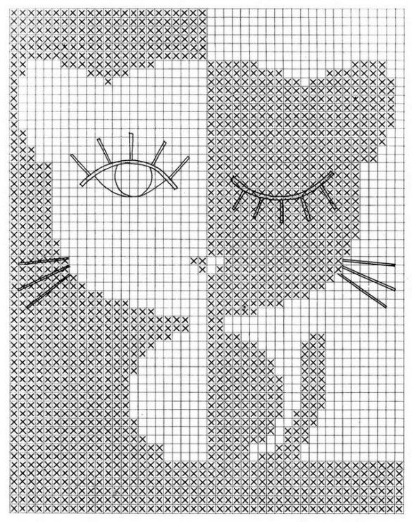 Схема вязания рисунков для детей